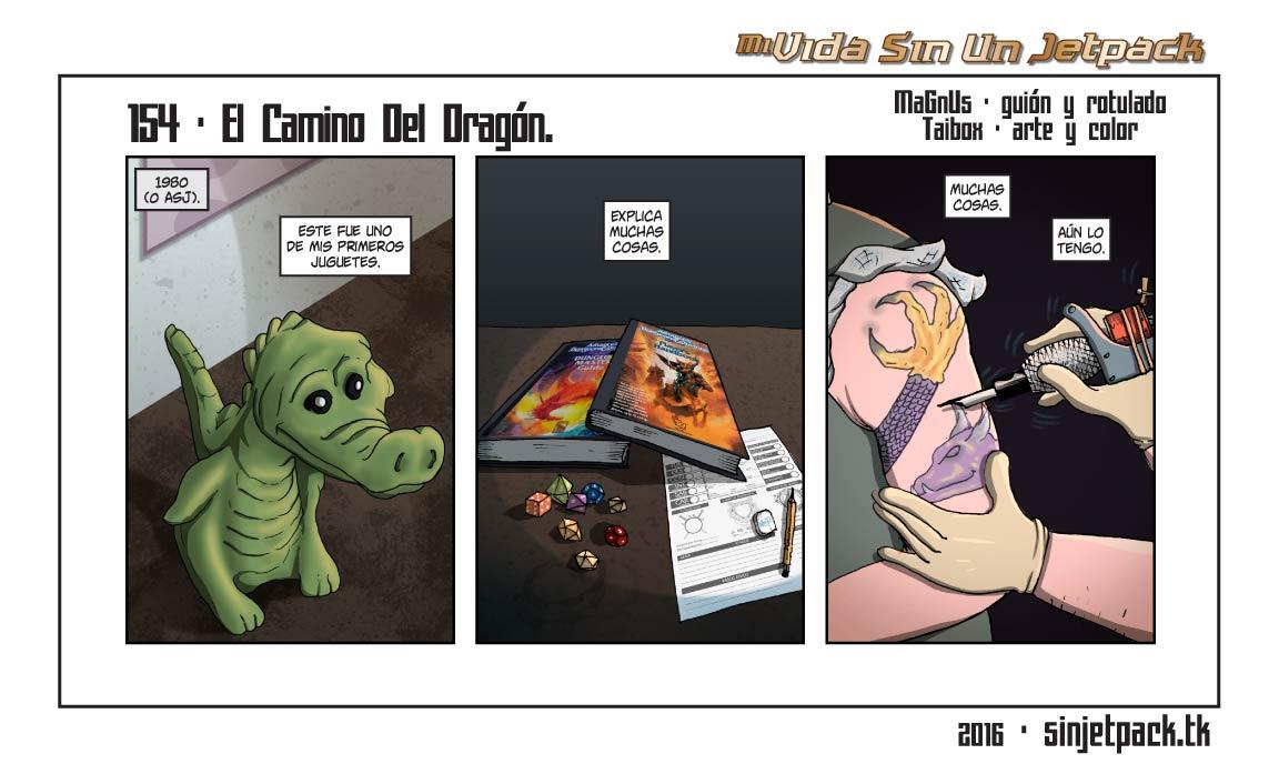 154 - El Camino Del Dragón