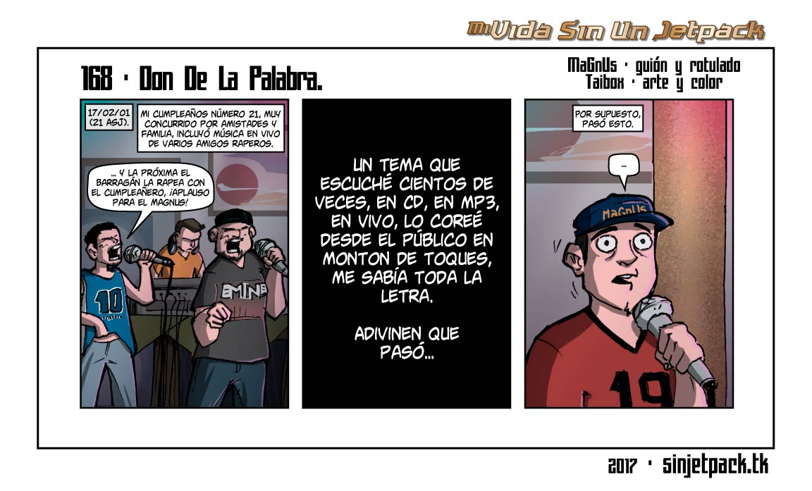 168 - Don De La Palabra.