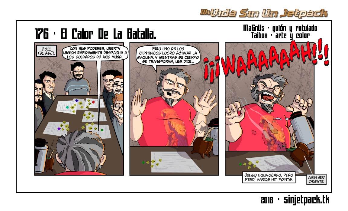176 - El Calor De La Batalla.