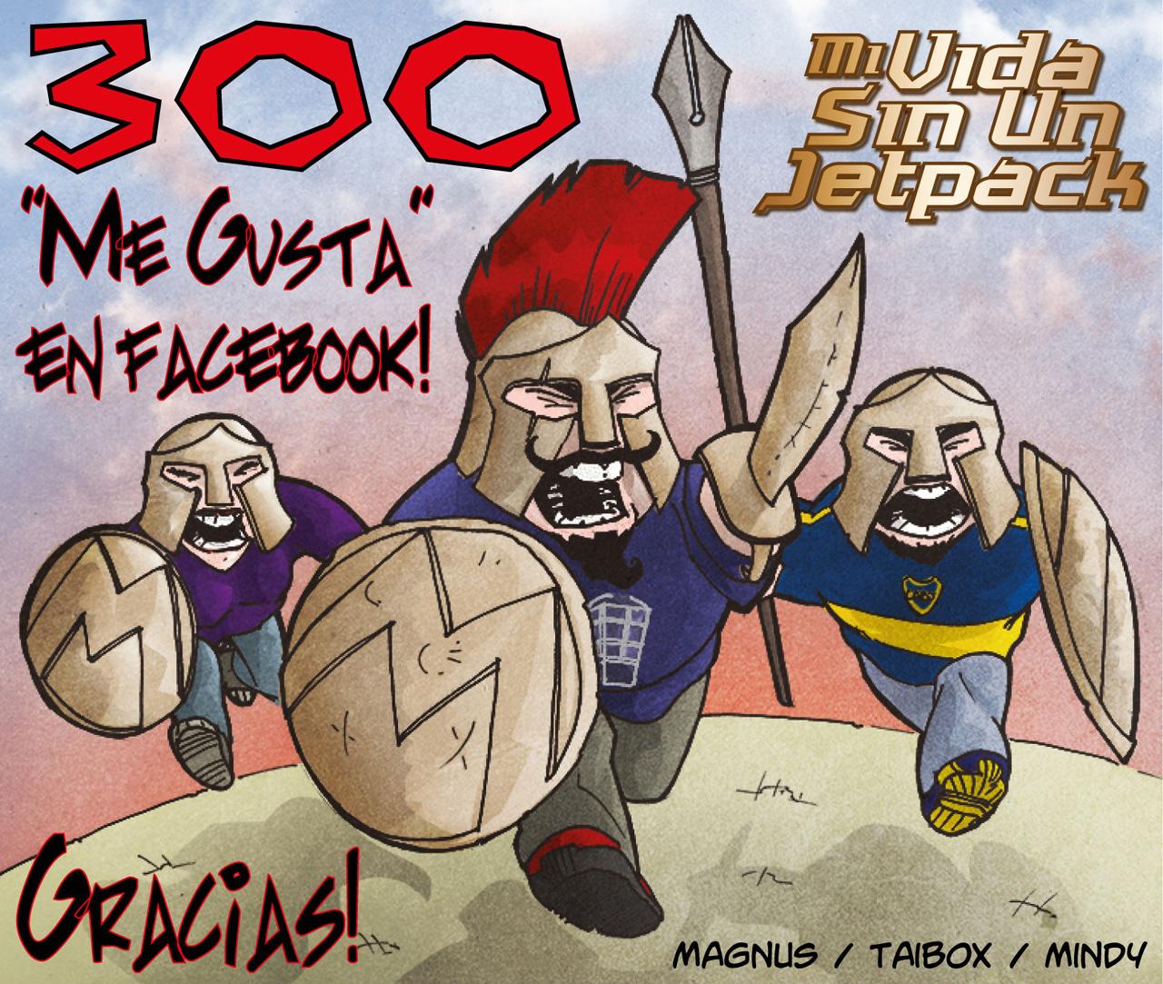 300 Fans En Facebook!