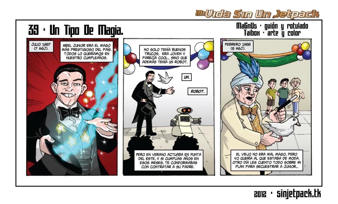 39 - Un Tipo De Magia.