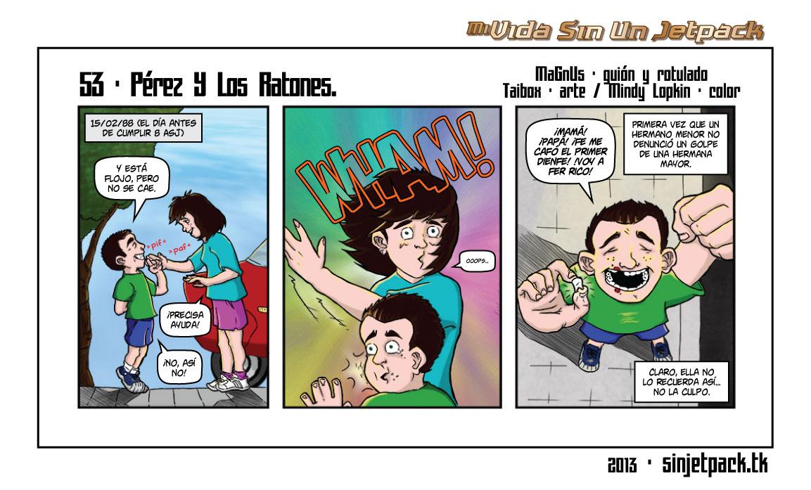53 - Pérez Y Los Ratones.