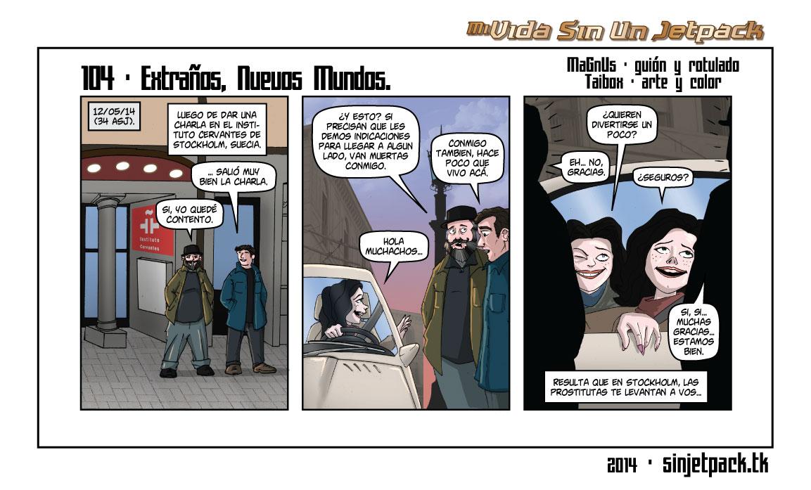104 - Extraños, Nuevos Mundos.
