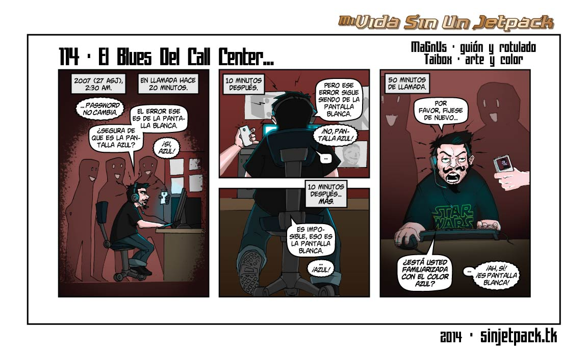 114 - El Blues Del Call Center...